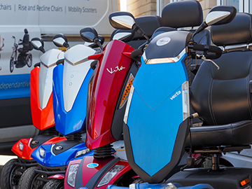 wide ranges of mobility scooter