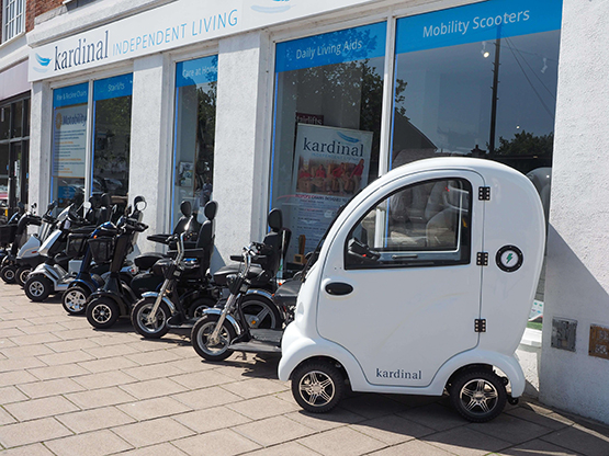local mobility scooter specialists in guidford