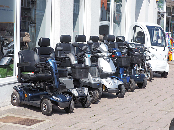 mobility scooter specialist in chichester