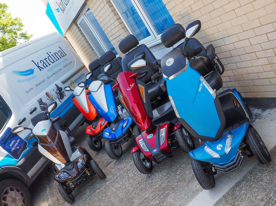 local mobility scooters in hastings
