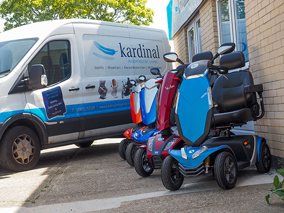 mobility scooters in lewes