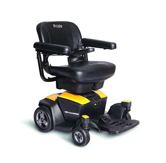gochair citrine yellow power chair