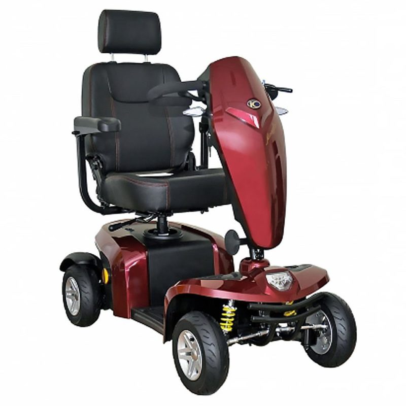 Kymco-Komfy-8-Mobility-Scooter-8MPH-Red-800×800