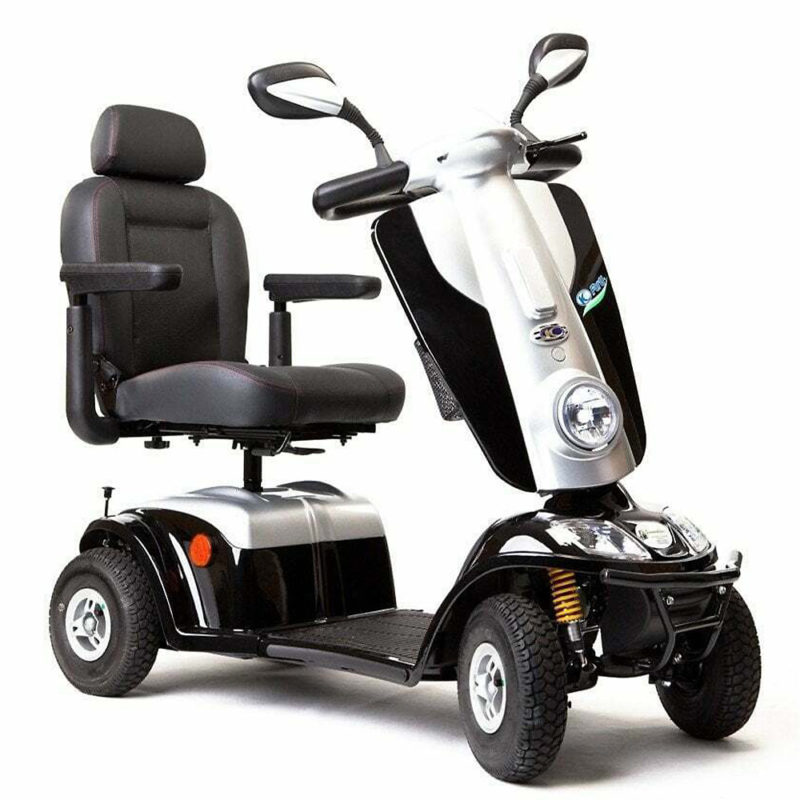 Kymco-Maxi-XLS-Mobility-Scooter-8MPH-Black-Front-800×800